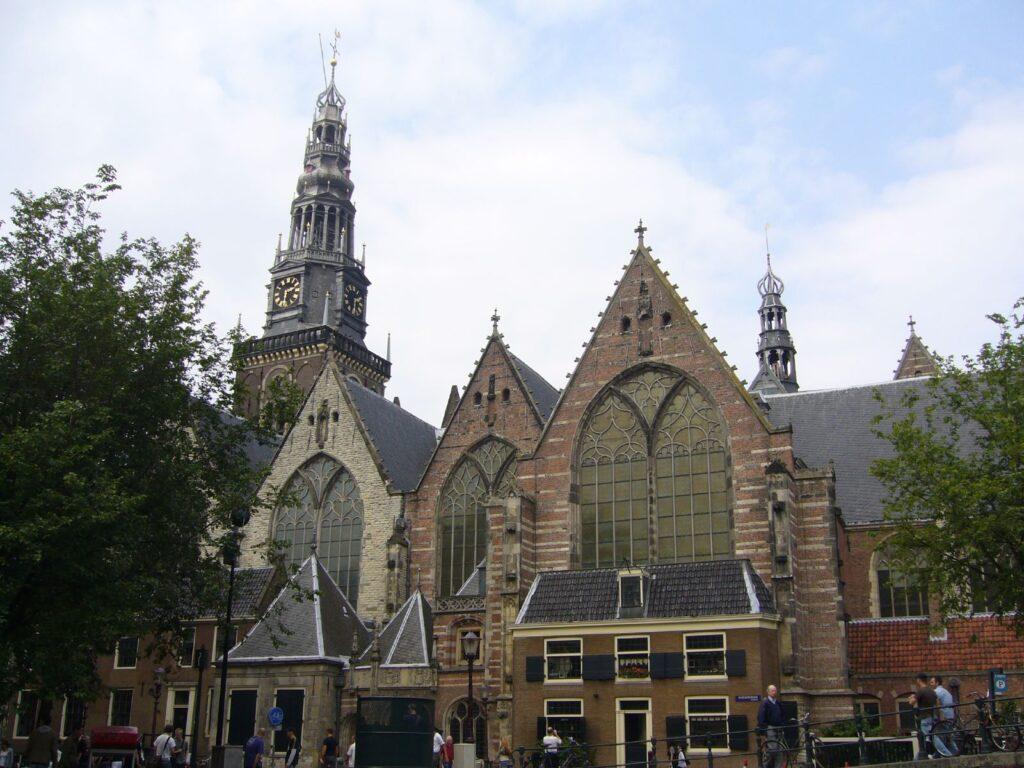 Oude Kerk w Amsterdamie