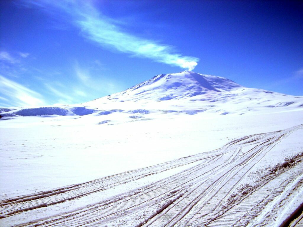 Wulkan Erebus