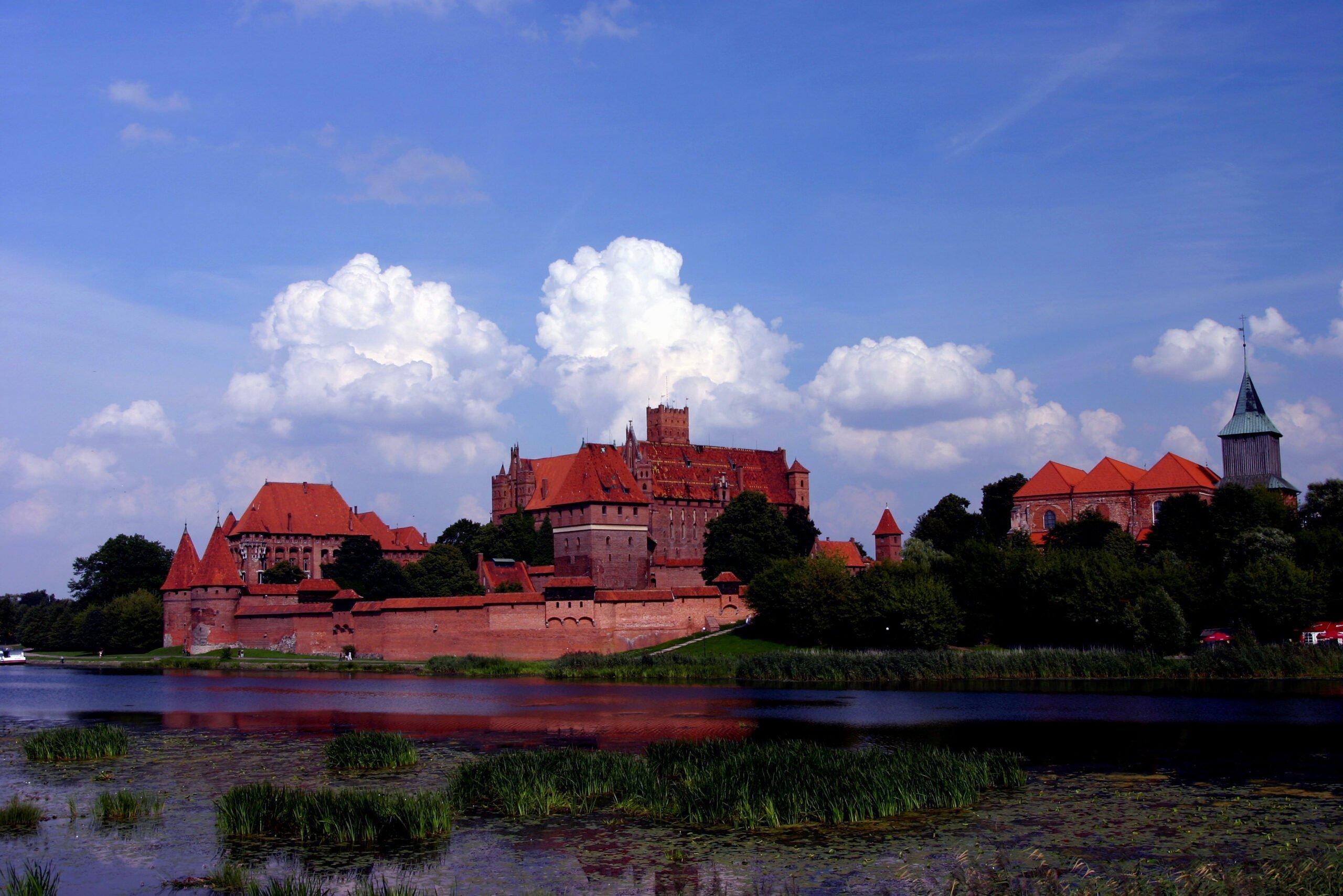 Zamek krzyżacki w Malborku