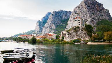 rzeka Cetina Chorwacja