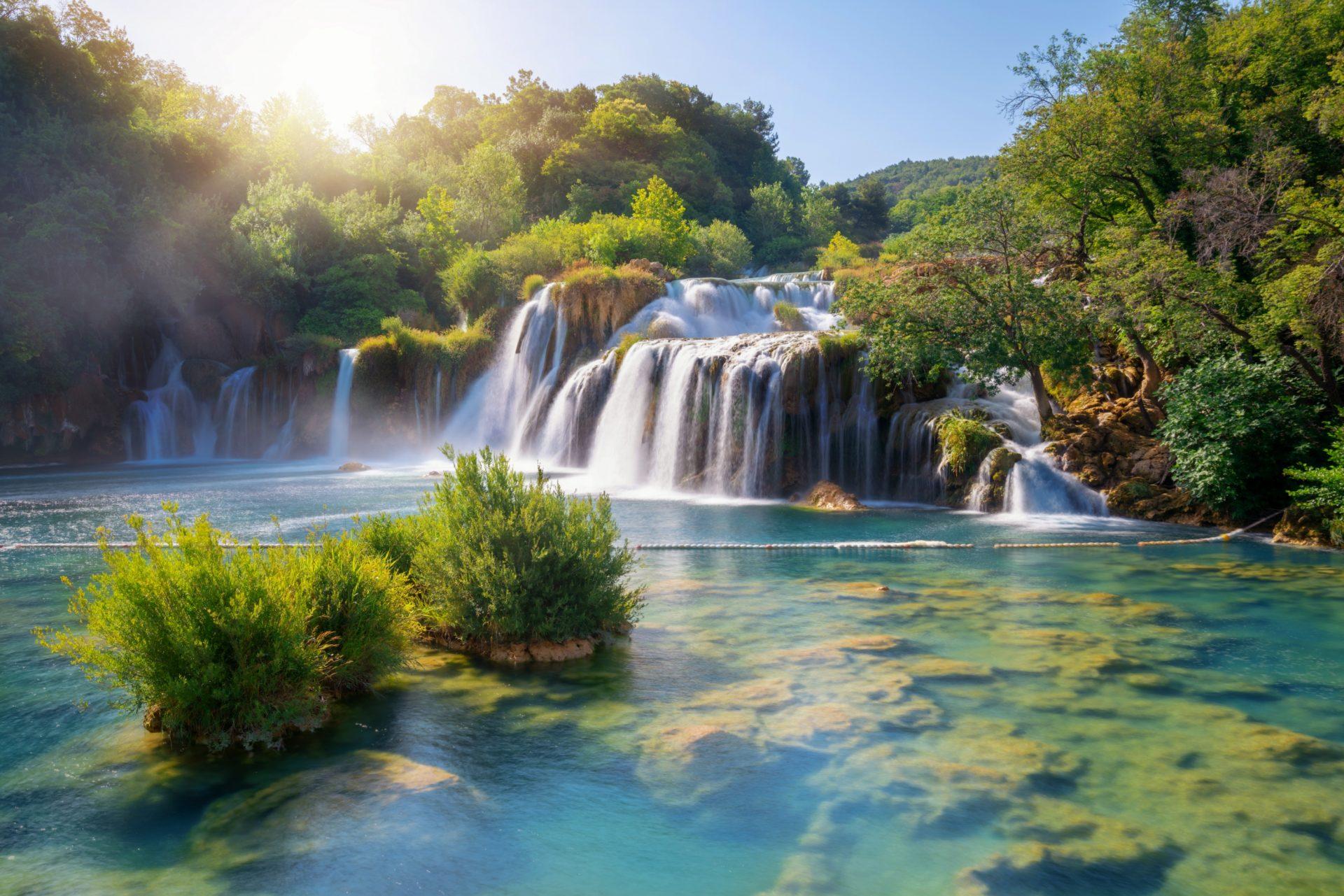 Wodospad Krka Chorwacja